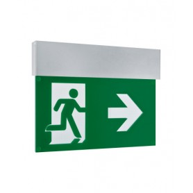 EMERGENCY EXIT SIGN HB 27M 3/8H AT