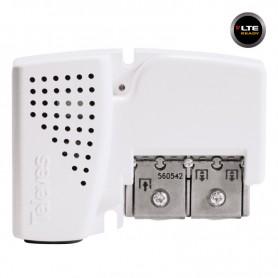 560542 PicoKom ΕΝΙΣΧΥΤΗΣ ΓΡΑΜΜΗΣ Easy-F AGC 20dB 105dBuV VHF/UHF 2out LTE