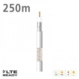 212703 ΚΑΛΩΔΙΟ Coaxial CXT-1 CCS AL Eca PVC White 250m