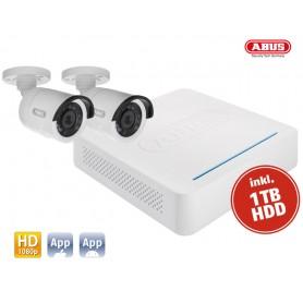 TVVR33025T DVR Kit HD: 5Ch.DVR Hybrid + 2 Cameras Tube