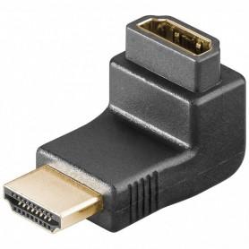 68782 ADAPTOR HDMI- ΘΗΛΥΚΟ ΣΕ HDMI- ΑΡΣΕΝΙΚΟ ΓΩΝΙΑΚΟ 90μοίρες