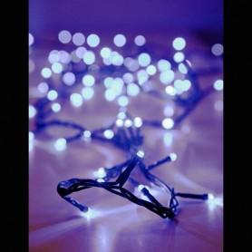 ΣΕΙΡΑ 100 LED ΜΕ ΠΡΟΓΡΑΜΜΑ, ΠΡΑΣΙΝΟ ΚΑΛΩΔΙΟ, ΛΕΥΚΟ LED ΑΝΑ 5cm.