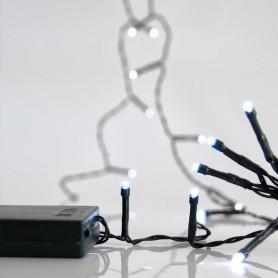 ΣΕΙΡΑ ΜΠΑΤΑΡΙΑΣ, 20 LED 5mm, ΠΡΑΣΙΝΟ ΚΑΛΩΔΙΟ, ΛΕΥΚΑ LED, ΑΝΑ 10cm, IP20.