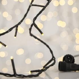 ΣΕΙΡΑ, 300 LED 3mm, 31V, ΕΠΕΚΤΑΣΗ ΕΩΣ 3, ΠΡΑΣΙΝΟ ΚΑΛΩΔΙΟ, DAYLIGHT ΛΕΥΚΟ LED ΑΝΑ 5cm, ΙΡ44
