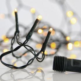 ΣΕΙΡΑ, 300 LED 3mm, 31V, ΕΠΕΚΤΑΣΗ ΕΩΣ 3, ΠΡΑΣΙΝΟ ΚΑΛΩΔΙΟ, ΘΕΡΜΟ ΛΕΥΚΟ LED ΑΝΑ 5cm, ΙΡ44