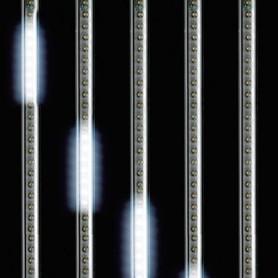 ΣΕΙΡΑ ΜΕ 5 SNOWDROP, 50 cm ΕΠΕΚΤΕΙΝΟΜΕΝΟΙ  ΜΕ ΜΕΤΑΣΧΗΜΑΤΙΣΤΗ, 240 ΛΕΥΚΑ LED, 400cm IP44