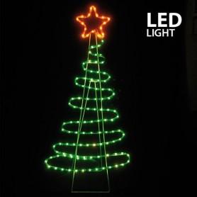ΔΕΝΤΡΟ, LED, ME 5m ΦΩΤ/ΝΑ, 112x51cm, IP44