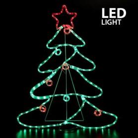 ΔΕΝΤΡΟ ΜΕ ΜΠΑΛΕΣ ΚΑΙ ΑΣΤΕΡΙ, LED, ME 6m. ΦΩΤ/ΝΑ, 88x68cm, IP44