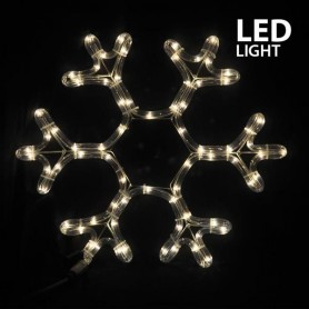 ΧΙΟΝΟΝΙΦΑΔΑ, ΘΕΡΜΟ ΛΕΥΚO, LED, ΜΕ 3m. ΦΩΤ/ΝΑ, 38x36cm, IP44