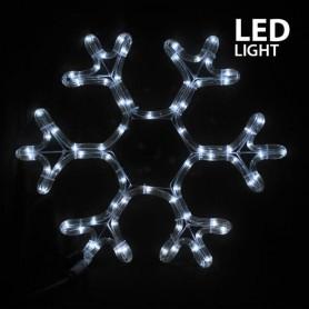 ΧΙΟΝΟΝΙΦΑΔΑ, ΛΕΥΚΗ, LED, ΜΕ 3m. ΦΩΤ/ΝΑ, 38x36cm, IP44