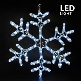 ΧΙΟΝΟΝΙΦΑΔΑ, ΛΕΥΚΗ, LED, ΜΕ 6m. ΦΩΤ/ΝΑ, 59x50cm, IP44
