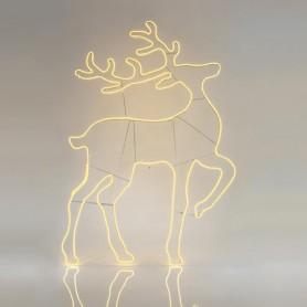 ΤΑΡΑΝΔΟΣ, ΘΕΡΜΟΣ ΛΕΥΚΟΣ, LED, ΜΕ 10m ΝΕΟΝ ΦΩΤ/ΝΑ, 140x93cm, IP44