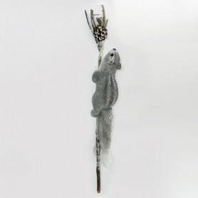 ΣΚΙΟΥΡΑΚΙ ΓΚΡΙ ΣΕ ΚΛΑΔΙ, 52cm