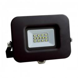 ΠΡΟΒΟΛΕΑΣ LED SMD ΒΑΣΗ 360° PLUS 10W ΜΑΥΡΟΣ IP65 6500K PLUS