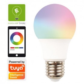 ΛΑΜΠΑ LED SMART WiFi 9W Ε27 RGBW 220-240V