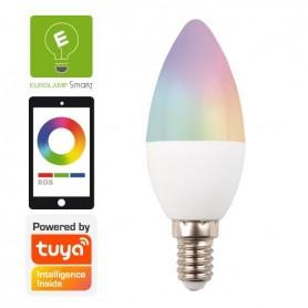 ΛΑΜΠΑ LED SMART WiFi ΚΕΡΙ 6W Ε14 RGBW 220-240V