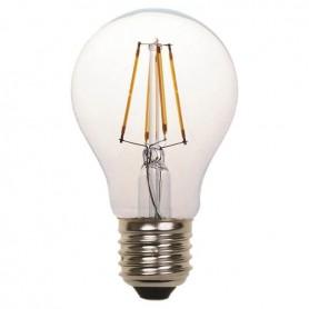 ΛΑΜΠΑ LED ΚΟΙΝΗ FILAMENT 8W E27 2700K 220-240V CLEAR 2τμχ BLISTER