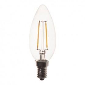 ΛΑΜΠΑ LED ΜΙΝΙΟΝ FILAMENT 4W E14 2700K 220-240V 2τμχ BLISTER