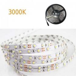 ΤΑΙΝΙΑ LED 5 ΜΕΤΡΩΝ 4,8W 12V 3000K IP20 VALUE