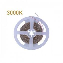 ΤΑΙΝΙΑ LED 5 ΜΕΤΡΩΝ 10W 24V 3000K IP68 PRO