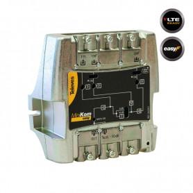 562501 MiniKom ΕΝΙΣΧΥΤΗΣ ΚΕΝΤΡΙΚΟΣ Easy-F 117dBuV FM/VHF/1xUHF LTE