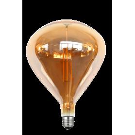 LAFLIGHT - Λαμπτήρας LED Filament VSR240 - 8W E27 2700K Dim Amber