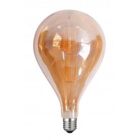 LAFLIGHT - Λαμπτήρας LED Filament VSST160 - 8W E27 2700K Dim Amber
