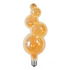 LAFLIGHT - Λαμπτήρας LED Filament VSPTC130 ‐ 8W E27 2700K Dim Amber