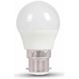 LAFLIGHT - Λαμπτήρας LED G45 (Σφαιρικός) - 1W Β22 3000K