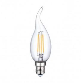 LAFLIGHT - Λαμπτήρας LED Filament CA35 (Τσούνι) - 4W E14 3000K
