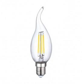 LAFLIGHT - Λαμπτήρας LED Filament CA35 (Τσούνι) - 4W E14 6500K