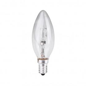 LAFLIGHT - Λαμπτήρας Αλογόνου C35 (Κερί) - 42W E14 2800K