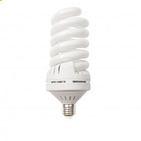 LIGHTS ON - Λαμπτήρας CFL Spiral T4 - 45W E27 6500K