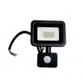 LAFLIGHT - Προβολέας LED - 20W 6500K PIR Photocell- Apollo-Slim