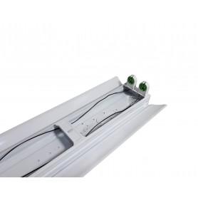 LAFLIGHT - Φωτιστικό Σκαφάκι 2x1200mm - IP20 2ΑΚ Ανακλαστήρας