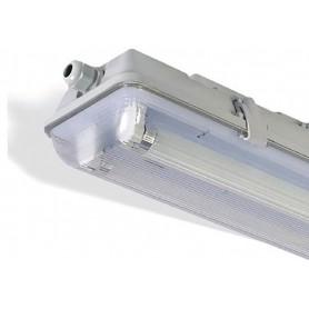 LAFLIGHT - Φωτιστικό Σκαφάκι 2x1200mm - IP65 1ΑΚ