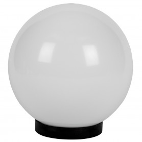 LAFLIGHT - Μπάλα Ø350 Φωτιστικού με Γρίφα  E27 Γάλακτος