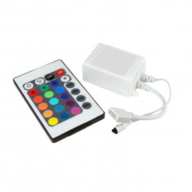Controller απλός (IR) 6A για ταινία LED