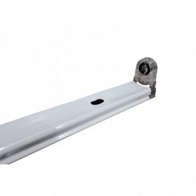 LAFLIGHT - Φωτιστικό Σκαφάκι 1x1500mm - IP20 2ΑΚ Πτυσσόμενα Άκρα