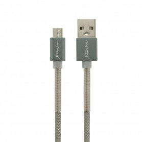NFM-A503 - Καλώδιο Φόρτισης/Δεδομένων (1m-3A-Aluminium) - USB-C - GREY