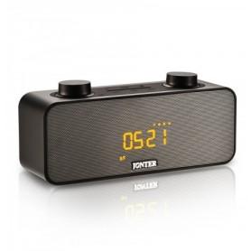 JNTR-M39 - Φορητό Bluetooth Ηχείο (MP3-Ρολόι-Ξυπνητήρι) - BLACK