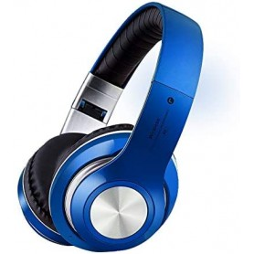 NFM-V33 - Ακουστικά Bluetooth Over-the-Head - BLUE