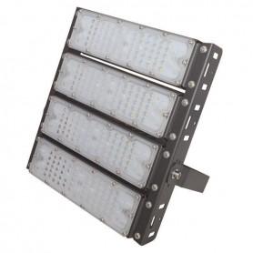 ΠΡΟΒΟΛΕΑΣ LED SMD 4Χ50/200W AC100-240V ΜΑΥΡΟΣ IP65 5000K PLUS