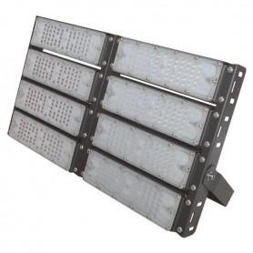 ΠΡΟΒΟΛΕΑΣ LED SMD 8Χ50/400W AC100-240V ΜΑΥΡΟΣ IP65 6500K PLUS