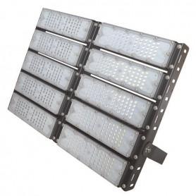 ΠΡΟΒΟΛΕΑΣ LED SMD 10Χ50/500W AC100-240V ΜΑΥΡΟΣ IP65 5000K PLUS