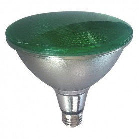 ΛΑΜΠΑ LED SMD PAR 38 IP65 15W E27 ΠΡΑΣΙΝΗ 170-240V