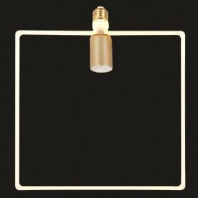 ΛΑΜΠΑ LED SOFT FILAMENT ΤΕΤΡΑΓΩΝΟ 12W E27 2700K 220-240V DIMMABLE FROST