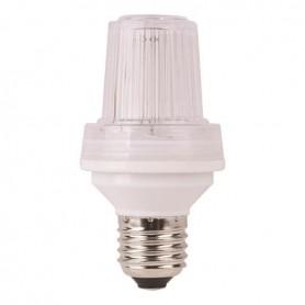 ΛΑΜΠΑ XENON STROBE LIGHT 4W -6W E27 220-240V ΔΙΑΦΑΝΗ