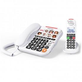 Τηλέφωνο  Ασύρματο COMBO SWISSVOICE Xtra 3155 Λευκό
