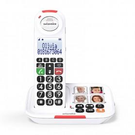 Τηλέφωνο  Ασύρματο DUO SWISSVOICE Xtra 2155 Λευκό